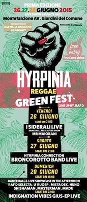 Hyrpinia Reggae Green Fest