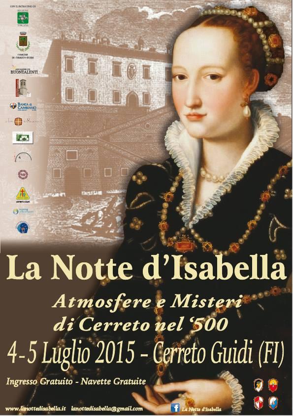 La notte d'Isabella 2015