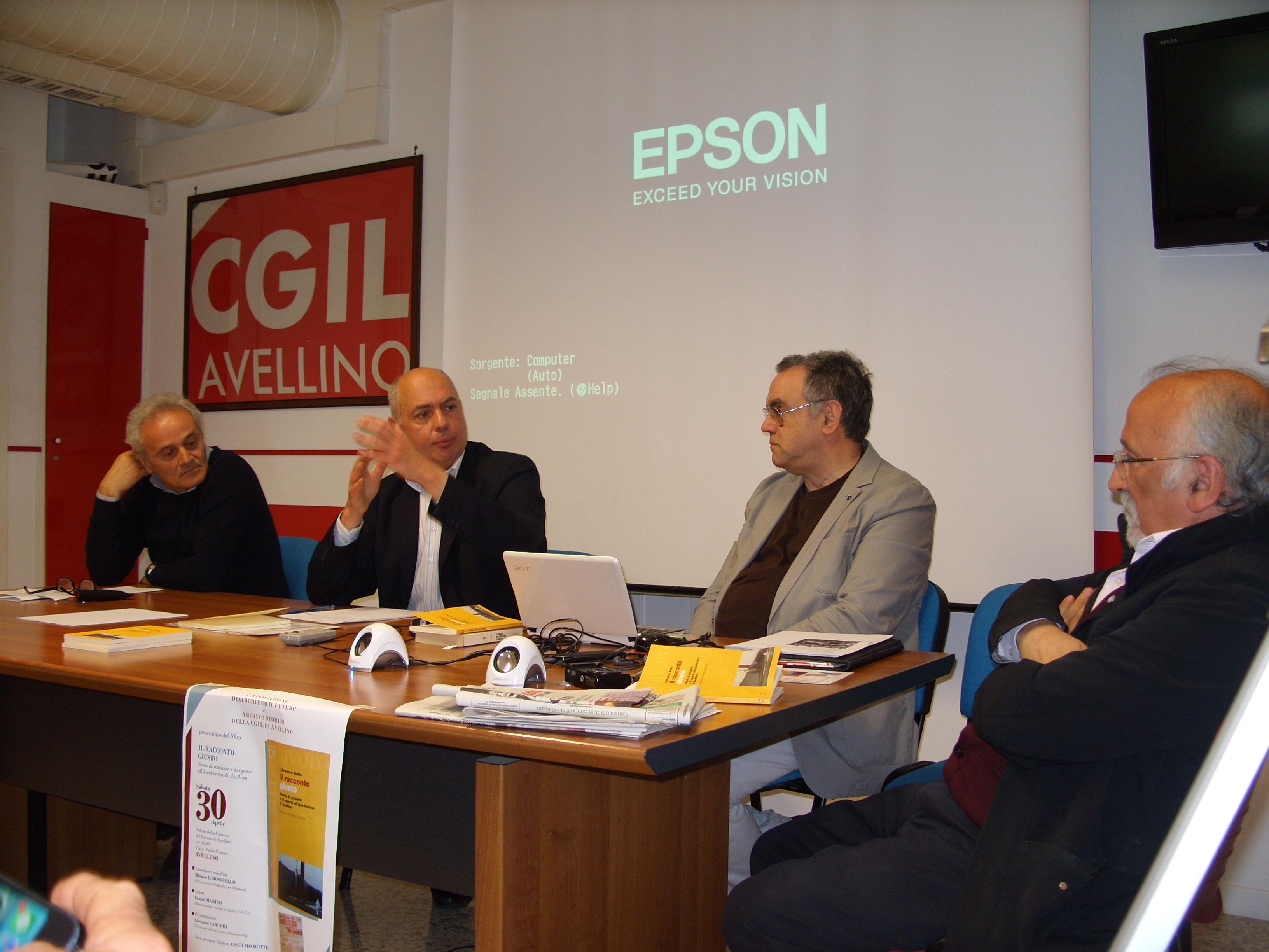Foto della presentazione de Il racconto giusto